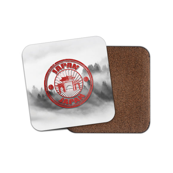 Japan Cork Backed Drinks Coaster for Tea & Coffee #4098