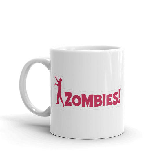 Zombie Warning Sign Walking Dead High Quality 10oz Coffee Tea Mug #4102