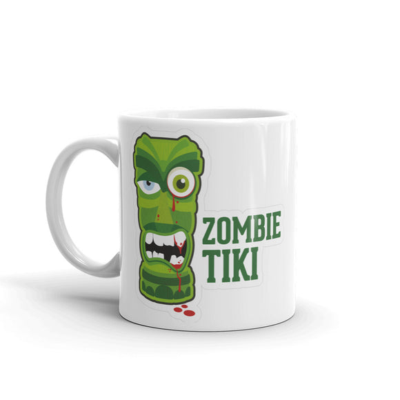 Zombie Tiki Warning High Quality 10oz Coffee Tea Mug #4103