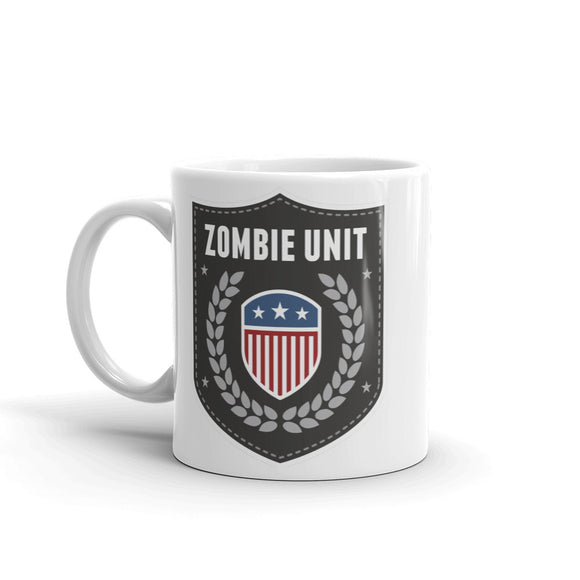 Zombie Unit Badge High Quality 10oz Coffee Tea Mug #4105