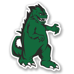 2 x Godzilla Monster Vinyl Sticker #4114