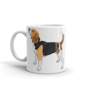 Beagle Dog High Quality 10oz Coffee Tea Mug #4122