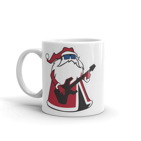 Cool Rock Santa High Quality 10oz Coffee Tea Mug #4129