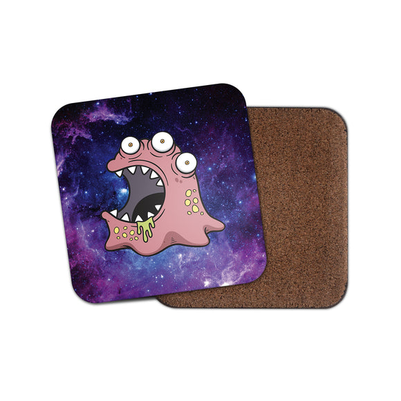 Monster Zombie Cork Backed Drinks Coaster for Tea & Coffee #4132