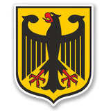 2 x Coat of Arms German Eagle Vinyl Sticker #4147