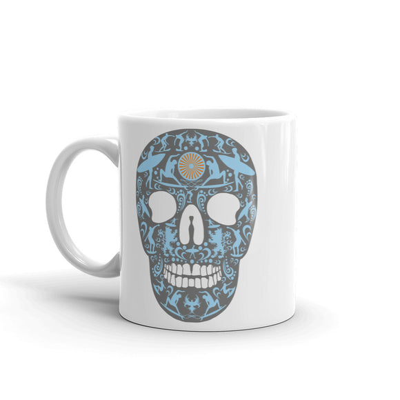 Surf Sugar Skull High Quality 10oz Coffee Tea Mug #4149