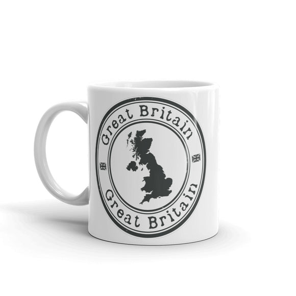 GB Great Britain UK High Quality 10oz Coffee Tea Mug #4153