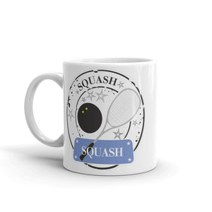 Squash Player High Quality 10oz Coffee Tea Mug #4174