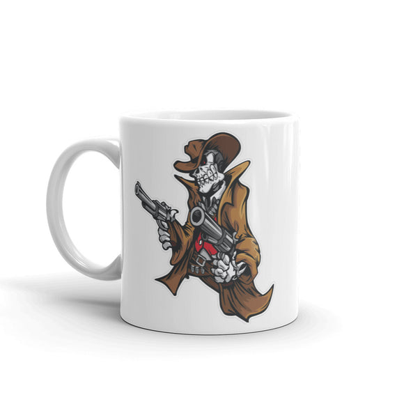 Cowboy Skull High Quality 10oz Coffee Tea Mug #4192
