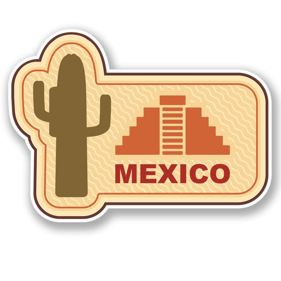 2 x Mexico Vinyl Sticker #4205