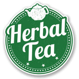 2 x Herbal Tea Vinyl Sticker #4231