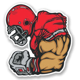 2 x NFL American Football Vinyl Sticker #4240