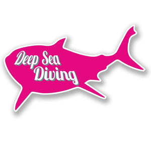 2 x Deep Sea Diving Vinyl Sticker #4271