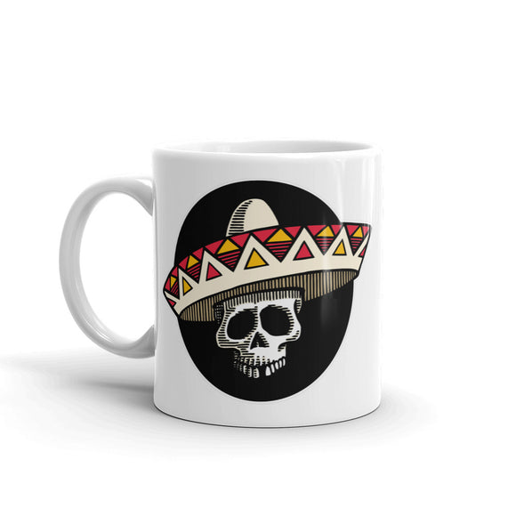 Mexican Sombrero Day of the Dead High Quality 10oz Coffee Tea Mug #4309