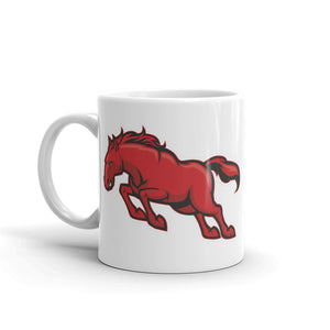 Red Angry Horse High Quality 10oz Coffee Tea Mug #4314