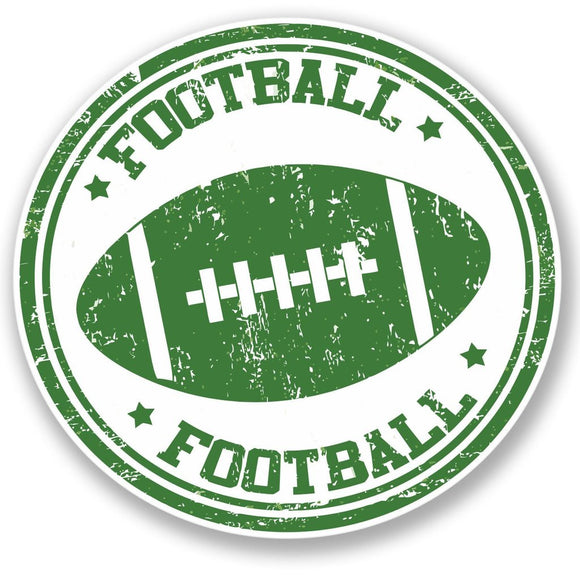 2 x American Football NFL Vinyl Sticker #4336