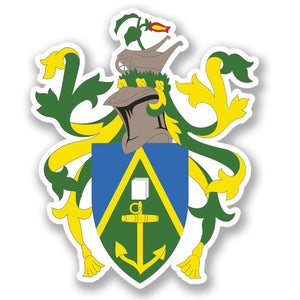 2 x Pitcairn Islands Vinyl Sticker #4370