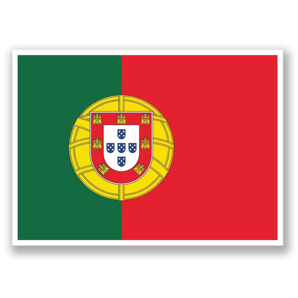 2 x Portugal Lisbon Vinyl Sticker #4373