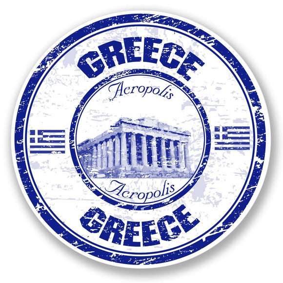 2 x Greece Acropolis Vinyl Sticker #4381
