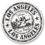 2 x Los Angeles California Vinyl Sticker #4399