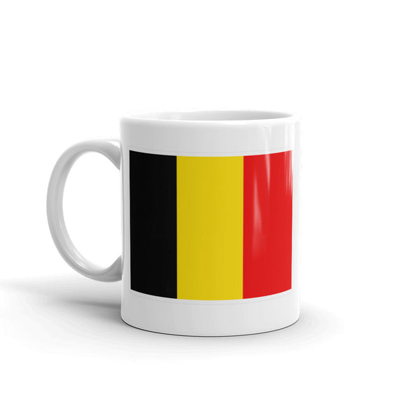 Belgium Flag High Quality 10oz Coffee Tea Mug #4416