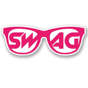 2 x Swag Glasses Vinyl Sticker #4464