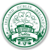 2 x Dublin Ireland Vinyl Sticker #4465