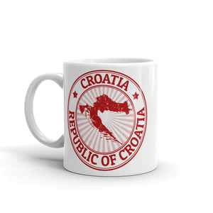 Croatia High Quality 10oz Coffee Tea Mug #4499
