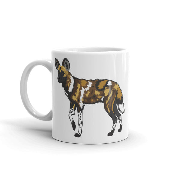 Wild Dog High Quality 10oz Coffee Tea Mug #4511