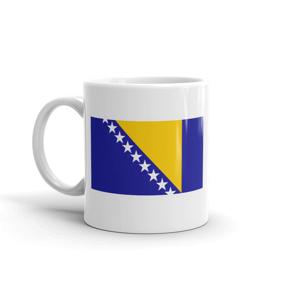 Boznia and Herzegovina Flag High Quality 10oz Coffee Tea Mug #4547