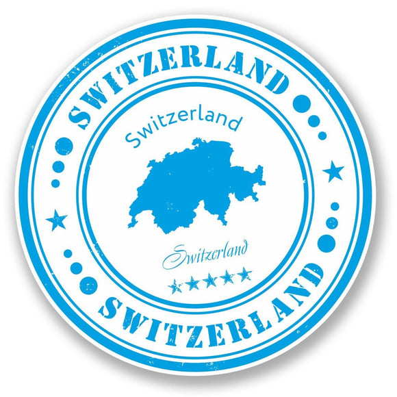 2 x Switzerland Vinyl Sticker #4564