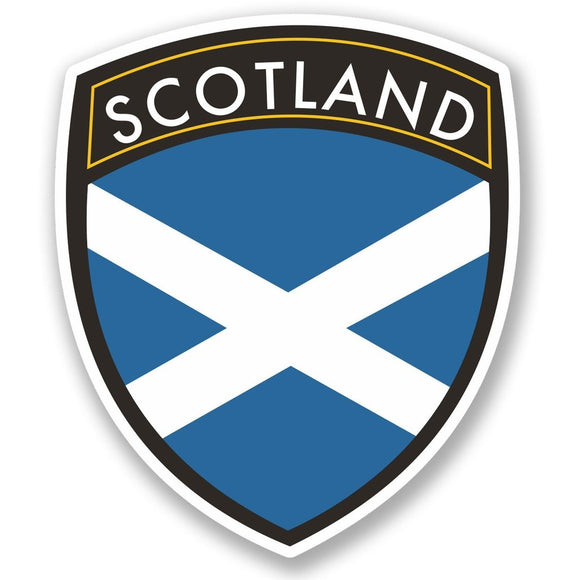 2 x Scotland Vinyl Sticker #4600