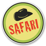 2 x Safari Vinyl Sticker #4615