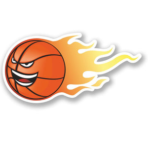 2 x Basketball Vinyl Sticker #4621