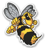 2 x Wasp Bee Hornet Vinyl Sticker #4637