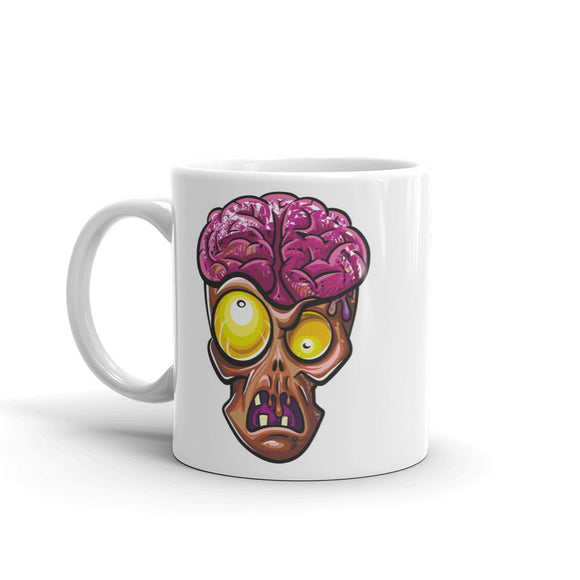 Zombie Head High Quality 10oz Coffee Tea Mug #4642