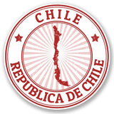 2 x Chile Vinyl Sticker #4656