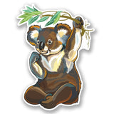 2 x Koala Bear Vinyl Sticker #4662