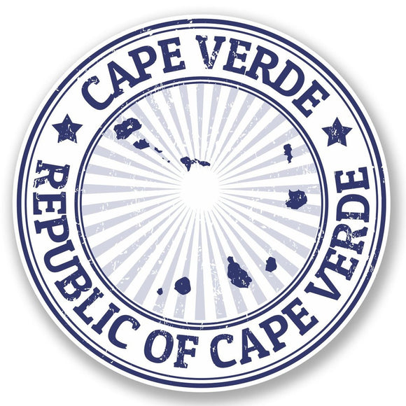 2 x Cape Verde Vinyl Sticker #4664