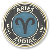 2 x Aries Vinyl Sticker #4665