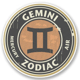 2 x Gemini Vinyl Sticker #4670