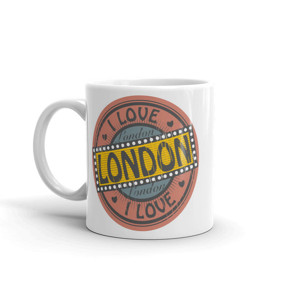 I Love London High Quality 10oz Coffee Tea Mug #4684