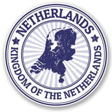2 x Netherlands Vinyl Sticker #4696