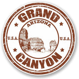 2 x Grand Canyon Arizona USA Vinyl Sticker #4704