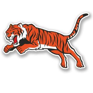2 x Tiger Vinyl Sticker #4708
