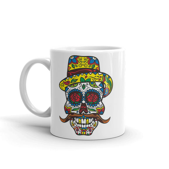 Sugar Skull High Quality 10oz Coffee Tea Mug #4735