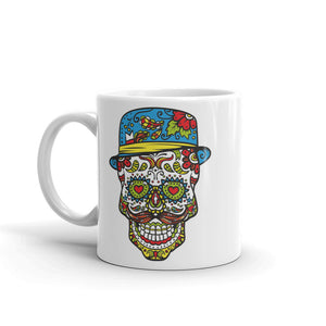 Sugar Skull High Quality 10oz Coffee Tea Mug #4736
