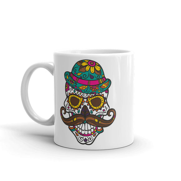Sugar Skull High Quality 10oz Coffee Tea Mug #4737