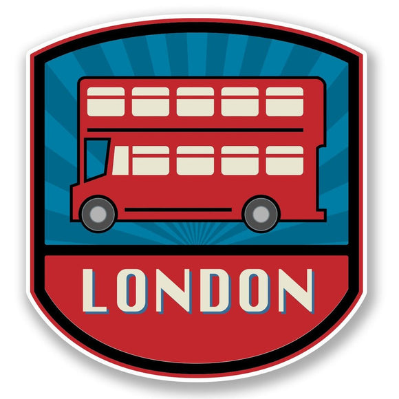 2 x London Vinyl Sticker #4739