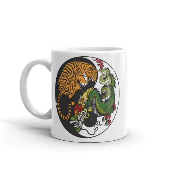 Yin Yang Tiger Dragon High Quality 10oz Coffee Tea Mug #4741